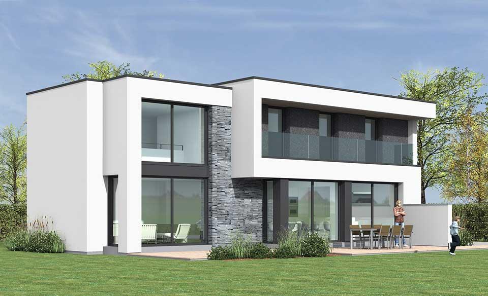 Architecte et constructeur de maisons dans le nord for Maison cubique