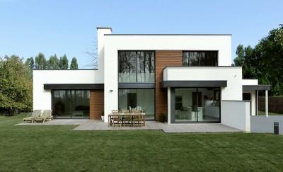 Pouwels ab architecte et constructeur de maisons dans le for Architecture cubique