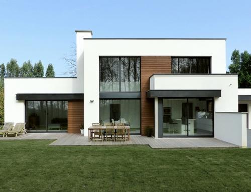 Maison cubique wambrechies pouwels ab for Architecture cubique
