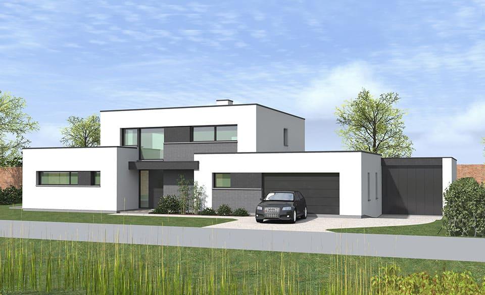 maison cubique nord avie home. Black Bedroom Furniture Sets. Home Design Ideas