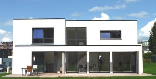 Maisons cubiques dans le nord construction pouwels ab - Interieur maison cubique ...
