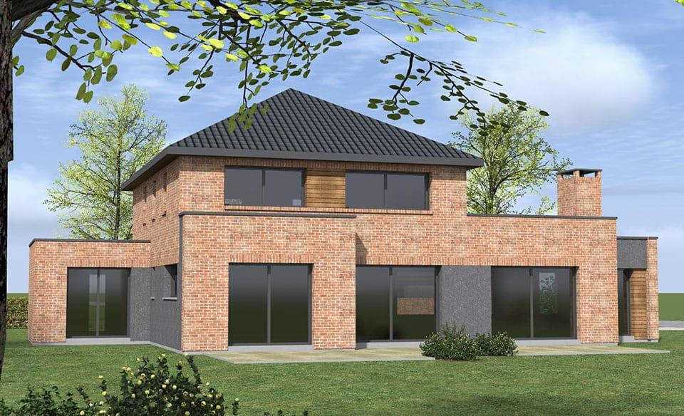 construction maison weppes. Black Bedroom Furniture Sets. Home Design Ideas