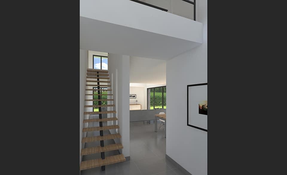 Maison Cubique à Villeneuve Du0027Ascq