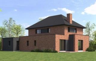Maisons semi-cubiques dans le Nord - Conception et construction