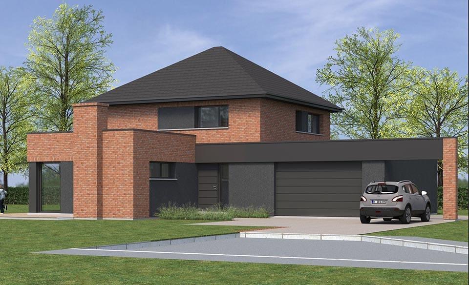 Maisons Semi Cubiques Dans Le Nord Conception Et Construction